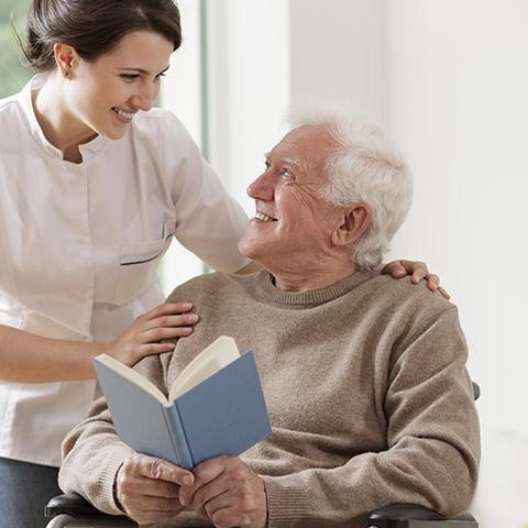 Уход за пенсионерами, питание, оказание помощи в личной гигиене, организация досуга