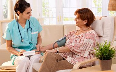 Контроль состояния здоровья в пансионате. Контроль приема лекарств.